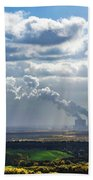 Cloud Factory Beach Towel