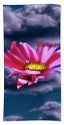 Cloud Flower.  Beach Towel