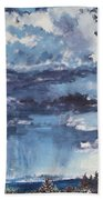 Cloud Study Beach Towel