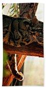 Clouded Leopard II Beach Towel
