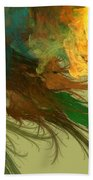 Clouds Of Color Beach Towel
