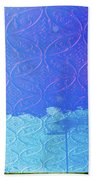 Clouds On The Ceiling Beach Towel