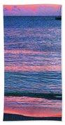 Clouds On The Horizon Beach Towel