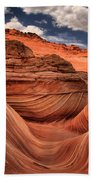 Clouds Over Coyote Buttes North Beach Towel
