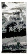Clouds Over St Thomas At Dusk 1 Beach Towel