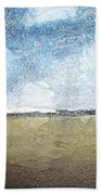 Flying Clouds Beach Towel
