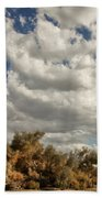 Clouds Rising Palm Springs Beach Towel