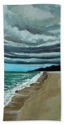 Clouds Rolling In Beach Towel