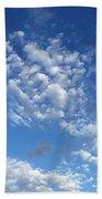 Cloudscape Beach Towel