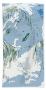 Cloudy With Whimsy Beach Towel