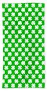 Clover Titled  - Pattern Beach Towel