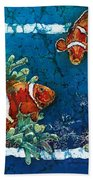 Clowning Around - Clownfish Beach Towel