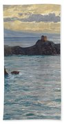 Coast At Amalfi Beach Towel