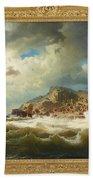 coast of Bohuslan Beach Towel