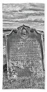 Coast - Whitby Freemason Grave Beach Towel