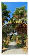 Coastal Rail Trail Beach Towel