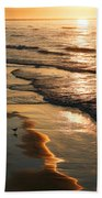 Coastal Sunrise Beach Towel