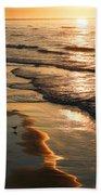 Coastal Sunrise Beach Towel
