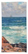 Coastal View Beach Towel