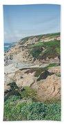Coastal Views At Bodega Bay Beach Sheet