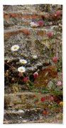 Coastal Wildflowers 1 Beach Towel