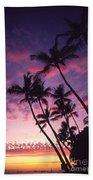 Coastline Palms Beach Towel