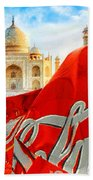 Coca-cola Can Trash Oh Yeah - And The Taj Mahal Beach Towel