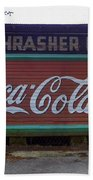 Coca Cola Sign Beach Towel