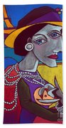 Coco Chanel Beach Towel