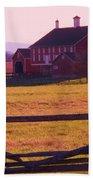 Codori Barn Gettysburg Beach Towel