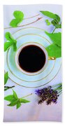 Coffee Delight Beach Towel