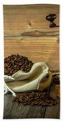 Coffee Grinder Beach Towel