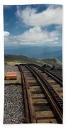 Cog Railway Stop Beach Towel
