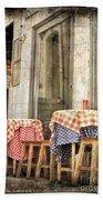 Coimbra Cafe Beach Towel