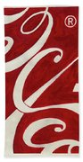 Cola - Coca Beach Towel