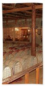 Colchagua Valley Wine Barrels Beach Towel