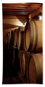 Colchagua Valley Wine Barrels II Beach Towel