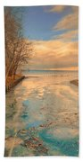 Cold And Warmth Beach Towel