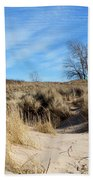 Cold Dune Day Beach Towel