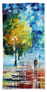Cold Emotions Beach Towel
