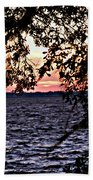 Cold Florida Sunset Beach Towel