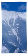 Cold Mountain Beach Towel