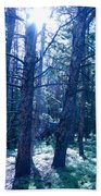 Cold Mountain Light Beach Towel