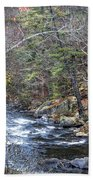 Cold Mountain Stream Beach Towel