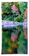 Cold Spring Harbor Reflections Beach Towel