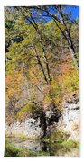 Coldwater Trout Stream Beach Towel
