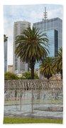 Coles Fountain Beach Towel