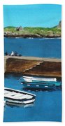 Coliemore Harbour, Dalkey Beach Towel