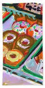 Coligny Donuts Beach Towel