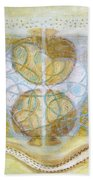 Collective Unconscious Three Equals One Equals Enlightenment Beach Towel